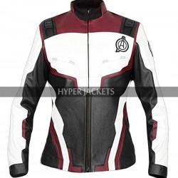 Womens Avengers Endgame Quantum Realm Suit Leather Jacket