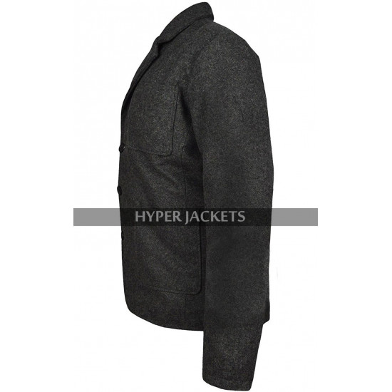 Mark Ruffalo Avengers Infinity War Bruce Banner Grey Wool Coat
