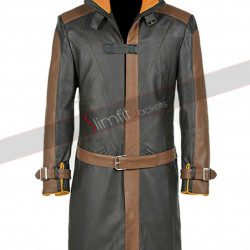 Watch Dogs 2 Aiden Pearce Leather Coat
