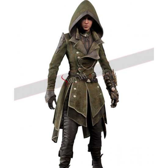 Assassin's Creed Syndicate Lydia Frye Suit  Costume