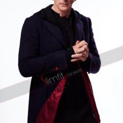 Doctor Who S9 Twelfth Doctor (Peter Capaldi) Black Coat
