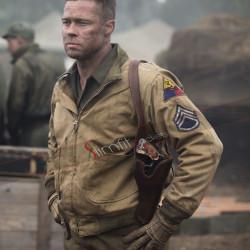 Fury Brad Pitt Tanker WW2 Jacket
