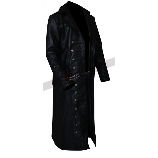 Captain Hook Trench Costume Coat In Once Upon a Time