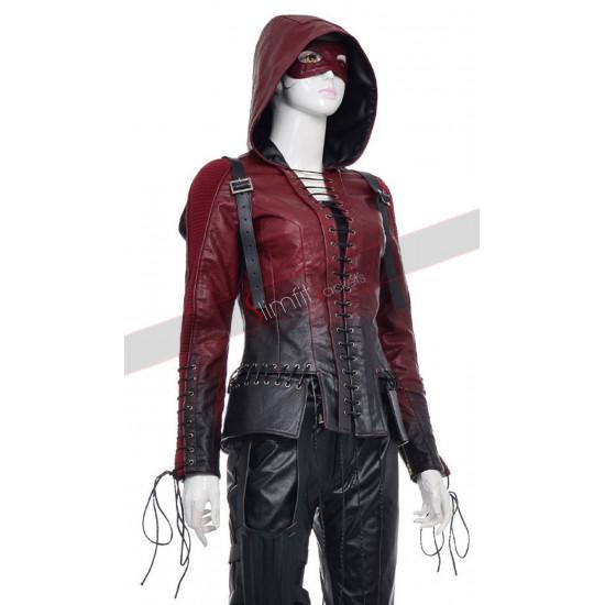 Arrow Season 4 Speedy Leather Costume