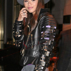 Zendaya Coleman Stylish Biker Jacket