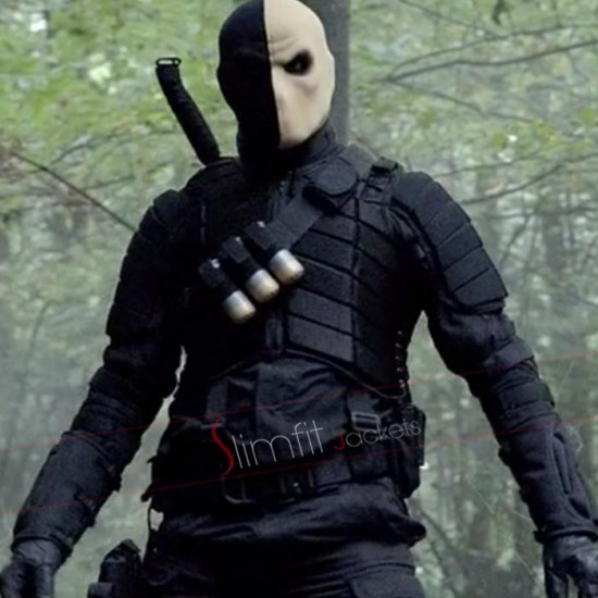Arrow Billy Wintergreen Cosplay Black Jacket Costume