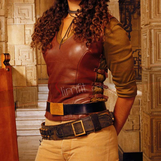 Firefly Gina Torres (Zoe Washburne) Brown Vest