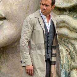Selfless Ryan Reynolds Damian Trench Coat