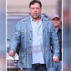 The Nice Guys 2016 Russell Crowe Blue Jacket