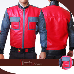 BTTF Back To The Future 2 Marty Mcfly Replica Jacket