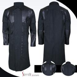 Adam Jensen Deus Ex Game Mankind Divided Black Coat
