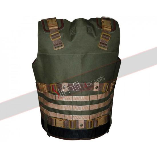 DSS Tactical Military Green Parachute Vest