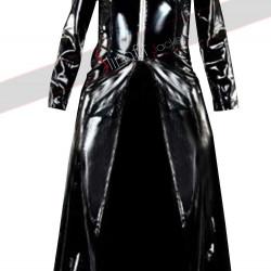 Matrix Trinity Black Trench Coat Costume