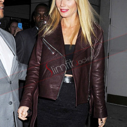 Gwyneth Paltrow Motorcycle Leather Jacket