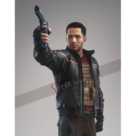 Nick Mendoza Battlefield Hardline Black Quilted Jacket