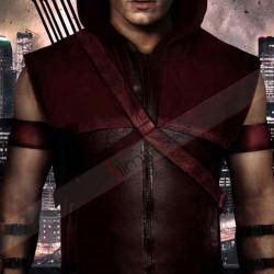 Arrow Roy Harper (Colton Haynes) Leather Vest