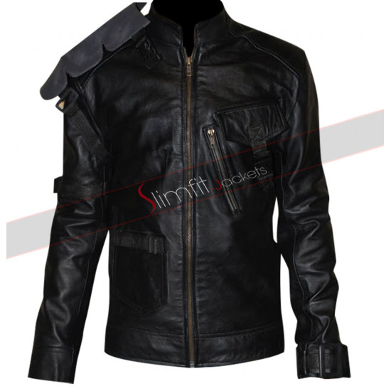 Aaron Ashmore Killjoys John Jaqobis Black Jacket