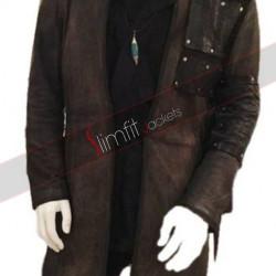 Arrow Dark Archer (Malcolm Merlyn) Leather Coat