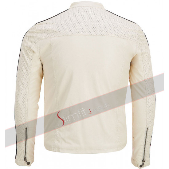 Aaron Paul Need for Speed Tobey Marshall White Jacket