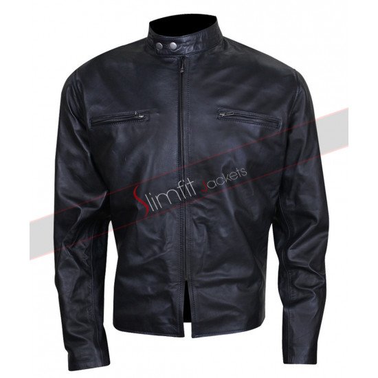 Bradley Cooper Burnt Adam Jones Black Leather Jacket