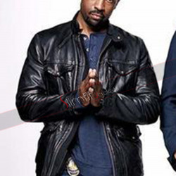 Angie Tribeca Deon Cole Black Jacket