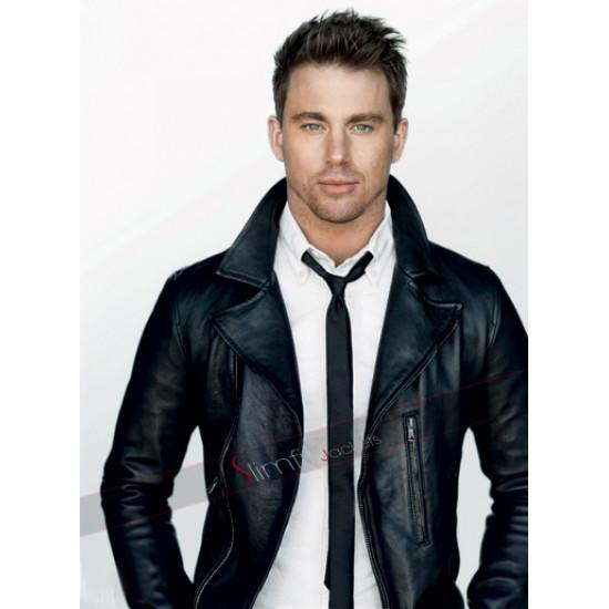 Channing Tatum Dolce and Gabbana Leather Jacket