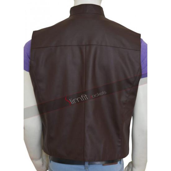 The Magnificent Seven Chris Pratt Brown Vest