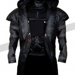 Gabriel Reyes Overwatch Reaper Cosplay Hooded Costume
