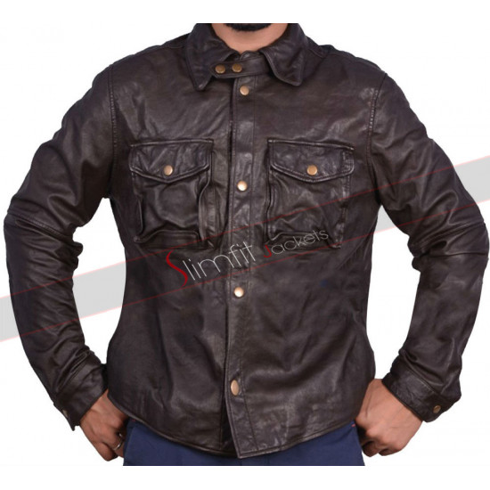 Addicted William Levy (Quentin Matthews) Leather Jacket