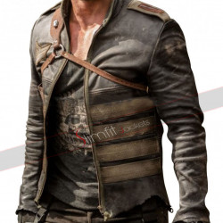 Resident Evil William Levy (Christian) Leather Jacket