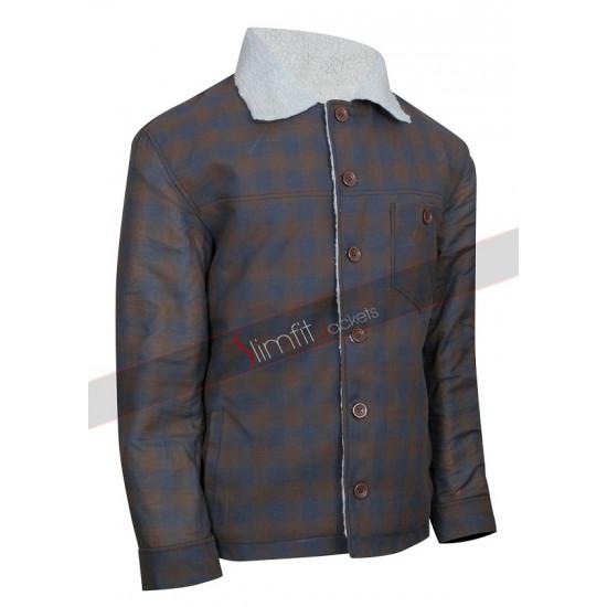 Nice Guys Ryan Gosling Set Los Angeles Shearling Jacket