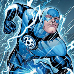 Blackest Night Blue Lantern Jacket