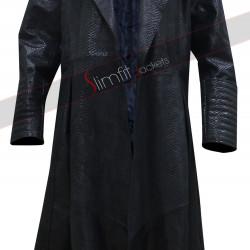The Matrix Laurence Fishburne (Morpheus) Alligator Coat