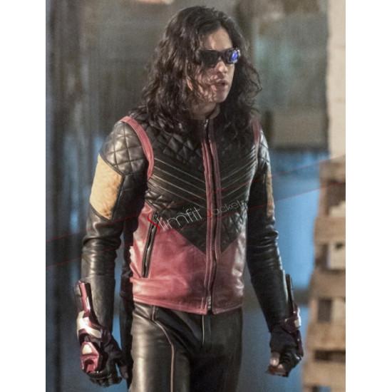 The Flash Cisco Ramon Leather Jacket