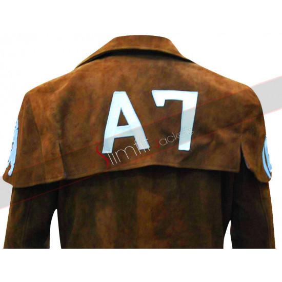 Fallout New Vegas Veteran Ranger Leather Coat Costume