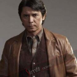 Lou Diamond Phillips Longmire Leather Jacket