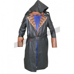 Assassin's Creed Unity Arno Dorian Leather Coat Costume