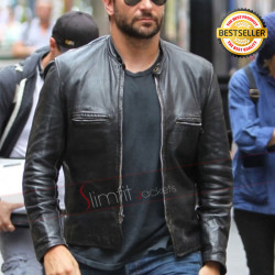 Bradley Cooper Burnt Adam Jones Black Leather Jacket