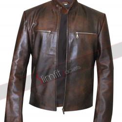 Grammy Awards Dierks Bentley Brown Leather Jacket