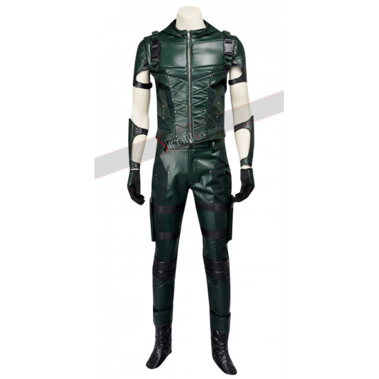 Arrow S4 Stephen Amell Hooded Armour Costume Vest