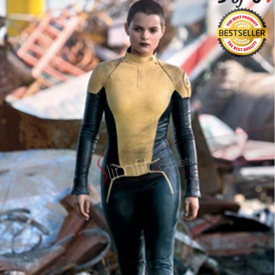 Brianna Hildebrand Deadpool Costume Jacket