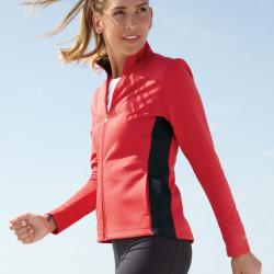 Champion S260 Ladies Colorblocked Performance Full-Zip Sweatshirt