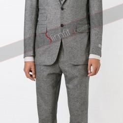 Batman V Superman Ben Affleck 3piece Grey Suit