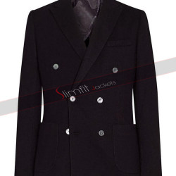 Smart Men Nelson Casual Black Coat