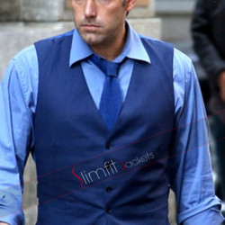 BVS Ben Affleck Blue Vest