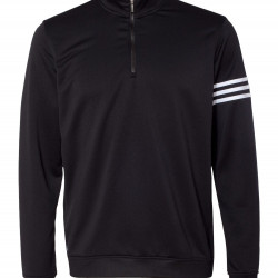 Adidas ClimaLite Three-Stripe French Terry Pullover Athletics