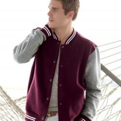 MV Sport 2369 Varsity Sweatshirt Jacket