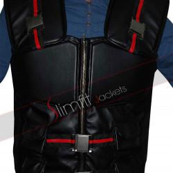 Wesley Snipes Blade Movie Leather Vest