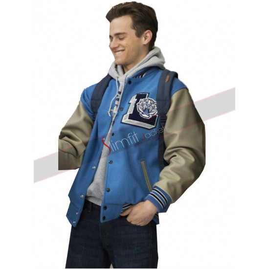 13 Reasons Why TV Series Brandon Flynn Varsity Jacket