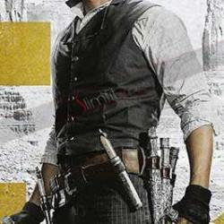 Byung-hun Lee Magnificent Seven Billy Rocks Black Vest